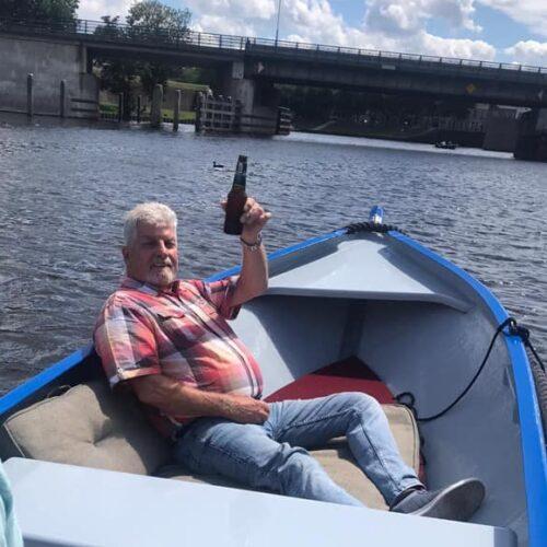 Bierarrangement aan boord in Den Bosch