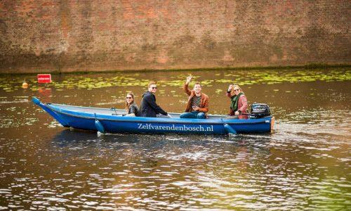 Standaard sloep bootverhuur Zelf Varen Den Bosch