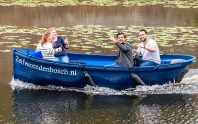 Luxe sloep huren in Den Bosch